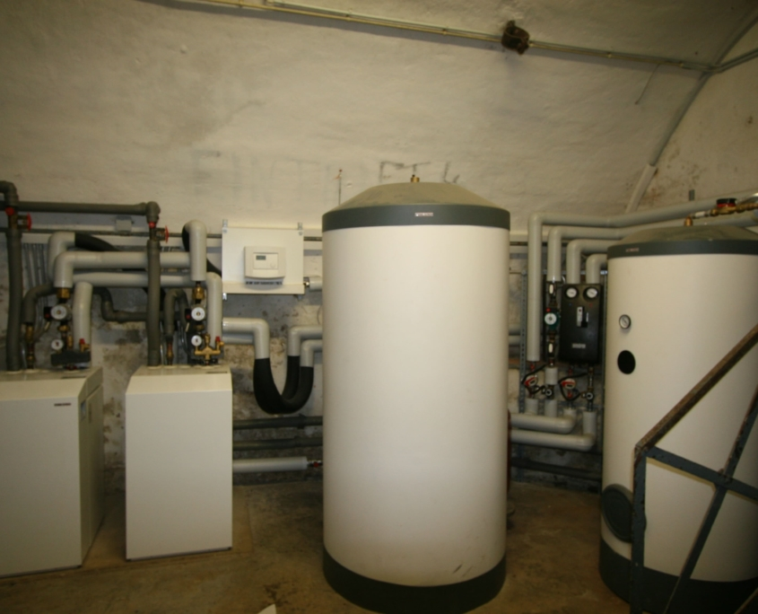 Wärmepumpe mit Grundwasser