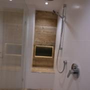 Dusche nach Badumbau