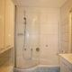 Viel Platz für Stauraum im kleinen Bad nach Badumbau