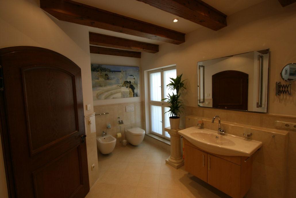 WC Mit Bidet Im Italienischen Stil Nach Badrenovierung