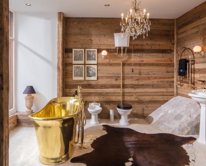 Englische traditionelle Badmöbel