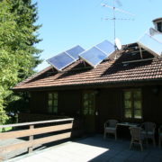 Perfekt positioierte Solaranlage