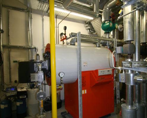 Gasheizung nach Sanierung