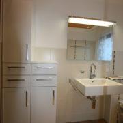 Kleines Badezimmer nach Badsanierung