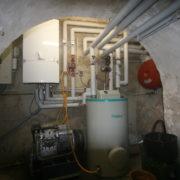 Vaillant Gasheizung vor Heizungsumbau