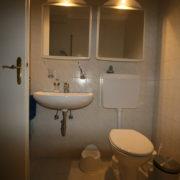 WC und Toilette vor Badrenovierung