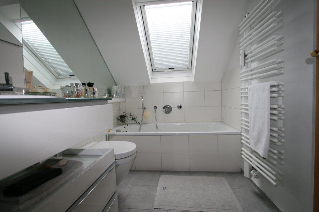 Kleines Bad im Dach | Schröter Haustechnik