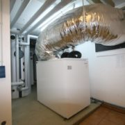 Luft-Wärmepumpe im Keller