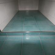 Dusche ohne Duschabtrennung