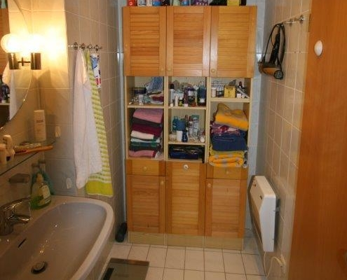 Badezimmer vorher