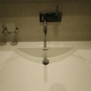 Moderne Waschtischanlage