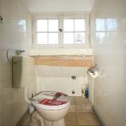 Toilette vor Haussanierung