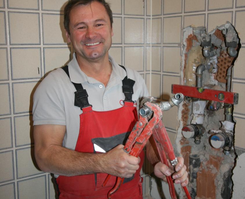 Mario Schreiber Anlagenmechaniker Schröter Haustechnik
