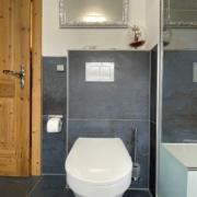Moderne WC Anlage