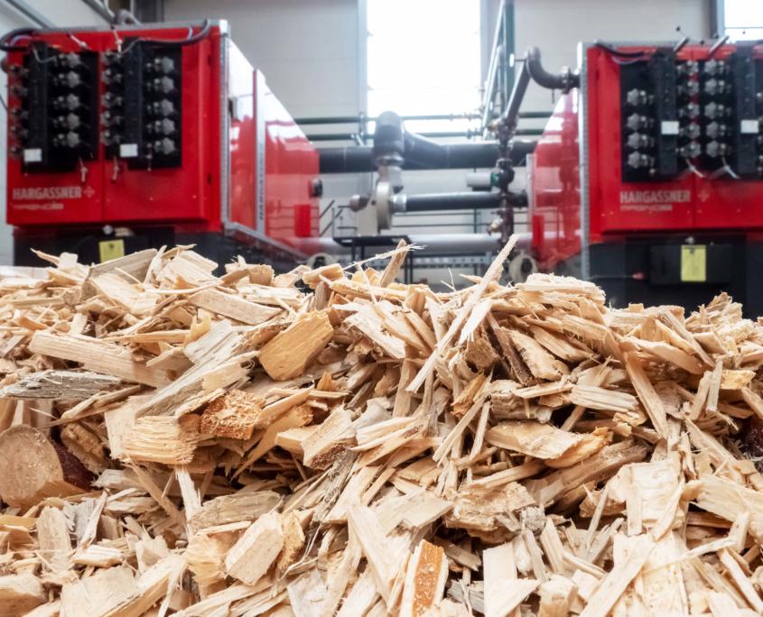 Biomasse Heizung Hargassner